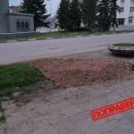 Водният теч в центъра на град Сливница е поправен