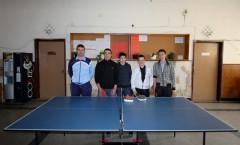 """ПГТ """"Н. Й. Вапцаров"""" - Шампион по тенис на маса за Софийска област"""