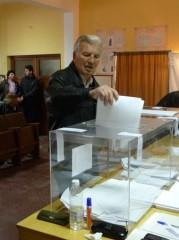 Гласоподавател от град Сливница дава своят глас!