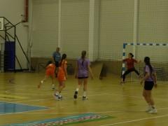 Хандбал - полуфинал Сливница (оранжев екип) срещу Панагюрище