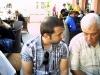 Тодор Мирчев и Арсен Арсов записаха ремита - Сеанс на ГМ Кирил Георгиев в град Сливница