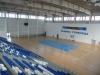 Поглед към игрището от най-високата точка на трибуните - Спортна зала Арена Сливница