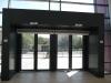 Вход/изход (поглед отвътре) - Спортна зала Арена Сливница