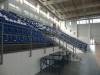 Изглед към трибуните от нивото на спортистите - Спортна зала Арена Сливница