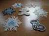 Подаръци за елха - снежинки и курабийки